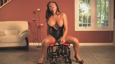 Claudia Valentine on the Rocker