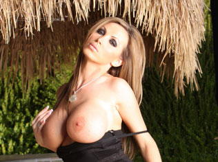 Nikki Benz looks incredible in her tight black dress and gets hot while stripping it off and showing off her amazing body! from Aziani