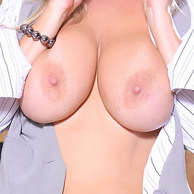 Rachel Aziani in Business Suit. from Busty Rachel