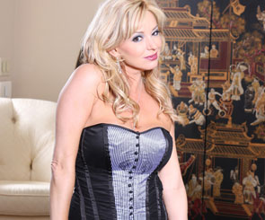 Rachel Aziani in corset from Busty Rachel
