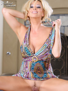 Rachel Aziani shows off her sexy, sophisticated self! from Busty Rachel