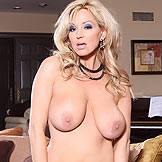 Rachel Aziani shows her huge boobs from Busty Rachel