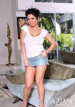 Sienna West shaved her pussy for these photos from Aziani