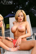 Lexxi Tyler and her girl Candy Manson are back to heat thigns up some more today. Those two simply can't keep their hands of each other. But looking at their tight, perky bodies this doesn't surprise us. from Aziani