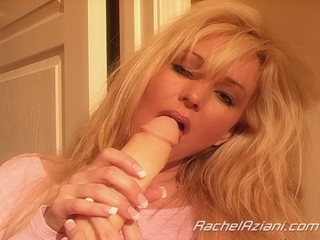 Rachel masturbating with a dildo from Busty Rachel