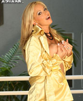Busty Rachel Aziani knows how to dress classy but she is a very naughty girl at heart who loves to get naked and show off her natural big breasts. from Busty Rachel
